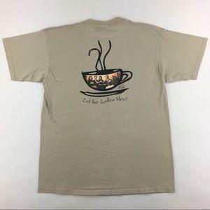 Vintage 1997 Frasier TV Show 'Cafe Nervosa' Shirt